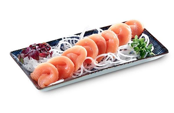 BENTO BOX Speisekarte - Lachs Sashimi