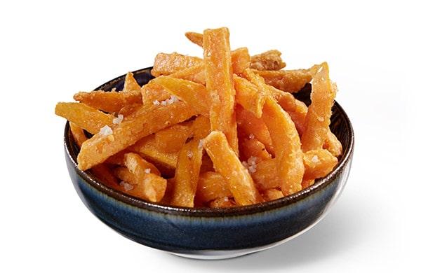 BENTO BOX Speisekarte - Süßkartoffel-Fritten