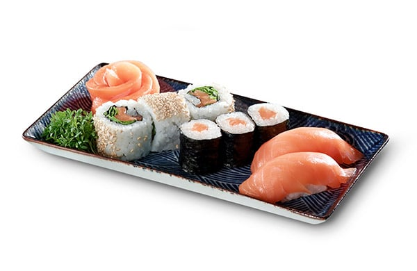 BENTO BOX Speisekarte - Salmon Dream Mix