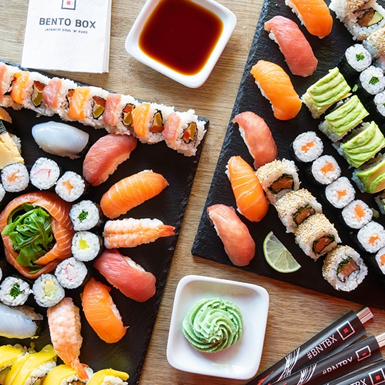 BENTO BOX Sushi Speisekarte